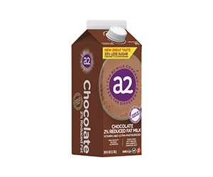 Free a2 Chocolate Milk 2% Reduced Fat