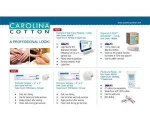 Free Carolina Cotton Sample Pack