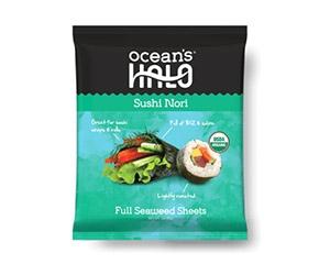Free Organic Sushi Nori From Ocean's Halo