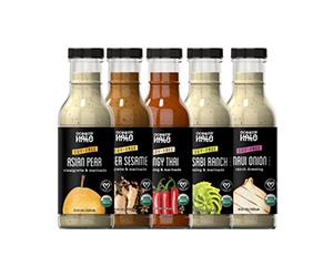 Free bottle of Organic, Vegan, and Soy-Free Dressing from Ocean's Halo
