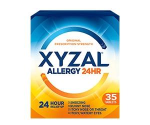 Free Sample of Xyzal Allergy 24HR