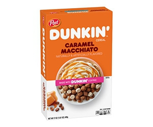 Free Dunkin' Caramel Macchiato Cereal Sample