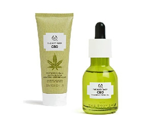 Free CBD Oil & Mask From The Body Shop