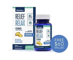 Free CBD Softgels 30-Day Supply From CBDistillery