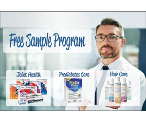 Free Joint Health, Prediabetes Care And Hair Care Samples From WynnPharm
