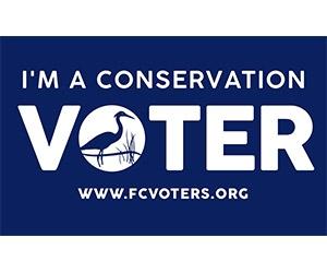 "Free ""I'm A Conservation Voter"" Sticker"