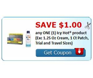 Save $1.00 any ONE (1) Icy Hot® product