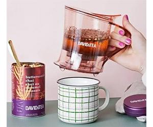 Free Tea + Birthday Gift At DAVIDsTEA