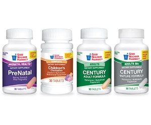 Free Prenatal, Children, Adult, And Mature Vitamins 30-Day Samples From Good Neighbor Pharmacy