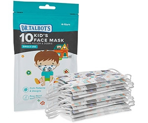 Free Single Use Face Masks For Teens From Dr. Talbot's
