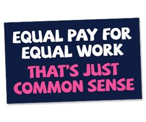 "Free ""Equal Pay"" Sticker"