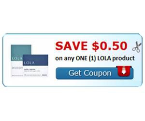 Save $0.50 on any ONE (1) LOLA product