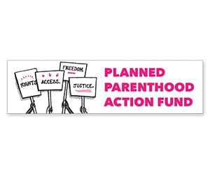 "Free ""Planned Parenthood"" Sticker"