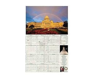 Free Arkansas Secretary of State 2021 Wall Calendar