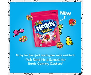 Free Sample of Nerds Gummy Clusters