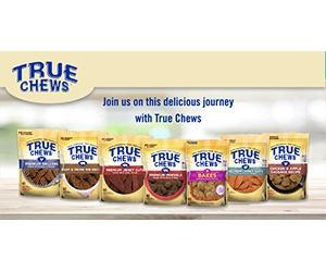 Free True Chews Jerky Cuts Dog Treats