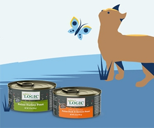 Two Free Cans of Cat Food from Nature's Logic