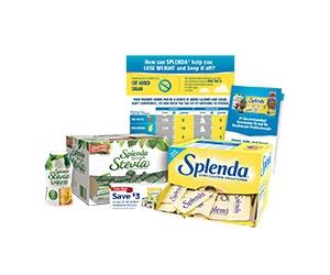 Free Splenda Zero Calorie Sweetener Sample