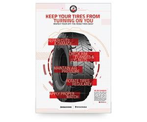 Free Otr Inspection Poster from Bridgestone