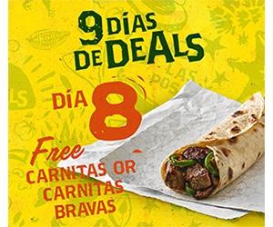 Free Carnitas Taco From Laredo Taco