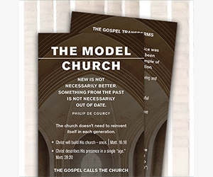 """Free """"Model Church"""" Study Bookmark From Know The Truth"""