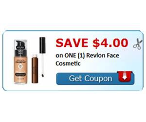 Save $4.00 on ONE (1) Revlon Face Cosmetic
