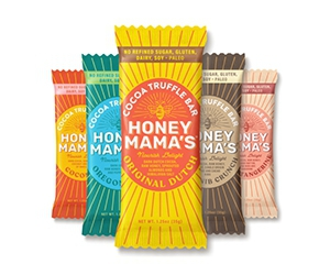 Free Single Honey-Cocoa Bars From Honey Mama's