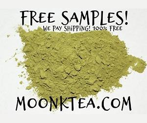 Free Moon Kratom Tea Samples