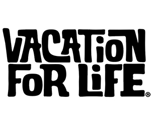"""Free """"Vacation For Life"""" Sticker"""