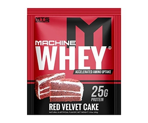 Free Machine Whey Red Velvet Cake Protein From Tiger Fitness