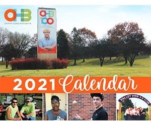 Free 2021 OHB Calendar