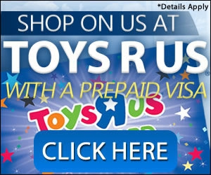 Free Toy's R Us Gift Card
