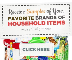 Free Samples of Your Favorite Brands of Household Items