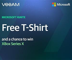 Free Microsoft Ignite T-Shirt + Win XBox Series X