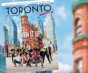 Free Toronto Magazine & Visitor Guide