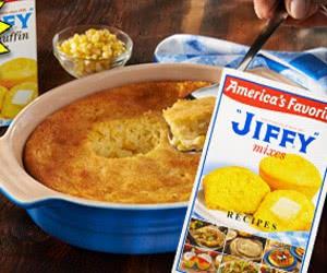 "Free ""JIFFY"" Mix Recipe Book"