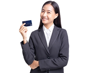 Get Approved for a Credit Card Today!
