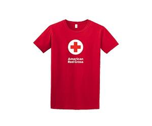 Free American Red Cross T-Shirt