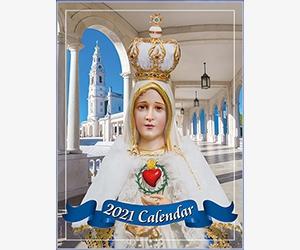 Free Mary Queen 2021 Catholic Calendar