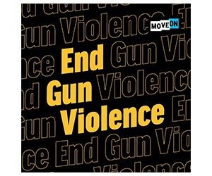 Free End Gun Violence Sticker