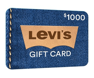 Free $1000 Levi's Gift Card