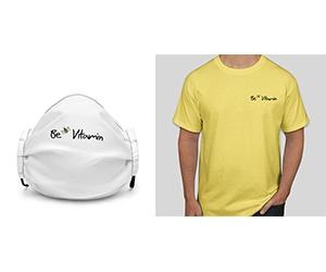 Free BeVitamin T-Shirt or Face Mask