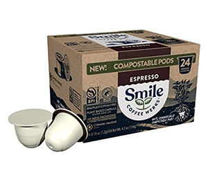 Free Smile Coffee Werks Pods