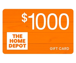 Free $1000 Home Depot Gift Card