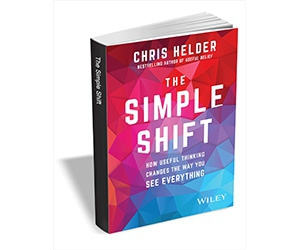 """Free eBook: """"The Simple Shift: How Useful Thinking Changes the Way You See Everything ($8.00 Value) FREE for a Limited Time"""""""