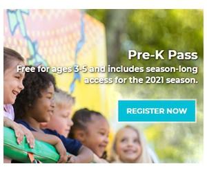 Free 2021 California's Great America Pre-K Season Pass