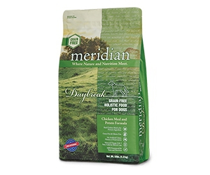 Free Meridian Dog Food x2 Samples