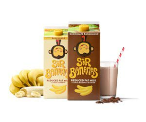 Free Sir Bananas Bananamilk and Chocolate Bananamilk