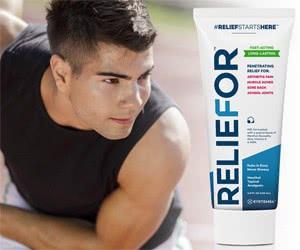 Free Reliefor Cream Sample
