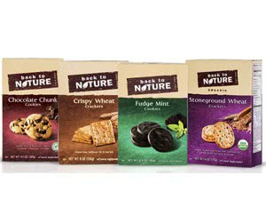 Free Back To Nature Cookies Or Crackers Samples